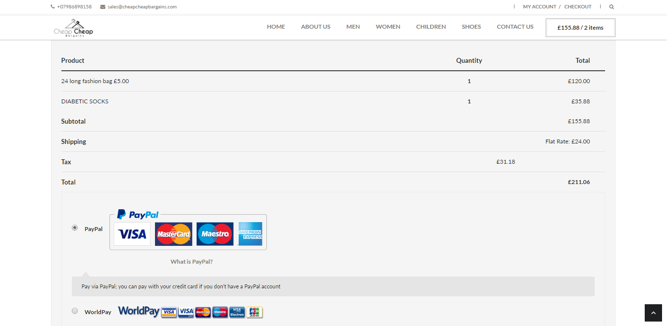 Cheap Ecommerce Website Design Uk
